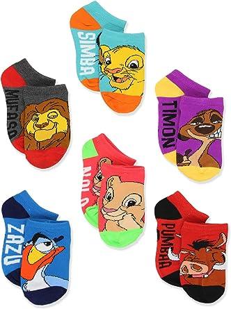Disney Lion King Shoe Liner Socks 3 Pack Ladies SIZE 4-8 New Simba Timon Pumba