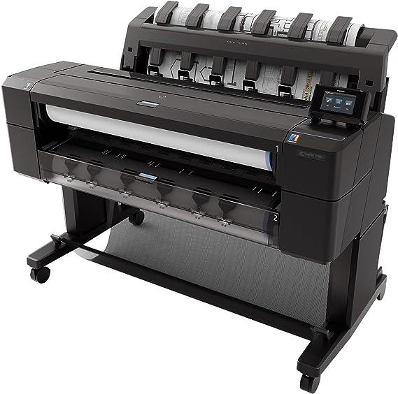 HP Designjet T1500 36-in ePrinter - Impresora de gran formato (HP-GL/2, HP-RTL, PCL 3, TIFF, 2400 x 1200 DPI, Cian, Gris, Magenta, Negro mate, Foto negro, Amarillo, A1 (594 x 841 mm),