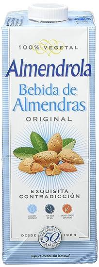 Almendrola - Leche De Almendras Original,1L