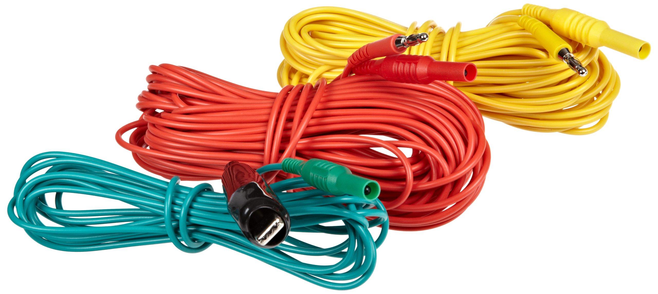 Megger 1000-525 Earth Test Cable Set for DET3T Digital Ground Resistance Tester by Megger (Image #1)