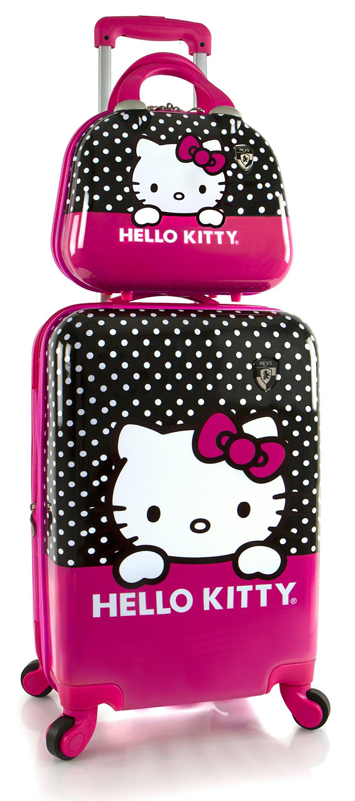 Heys America Unisex Hello Kitty 21'' Spinner & Beauty Case Pink One Size
