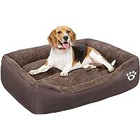 Warm Comfort Large Dog Beds Washable, Orthopedic Dog beds Basket for Medium and Large Dogs, Non-Slip Bottom Fleece Pet…