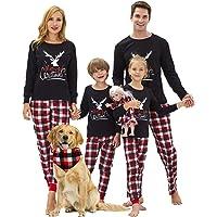 Boys & Girls Christmas Pajamas 100% Cotton Size 2T- 16 Unisex Toddler Kids Santa Reindeer Penguin PJS Set