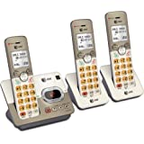 AT&T EL52313 3-Handset Expandable Cordless Phone with Answering System & Extra-large Backlit Keys
