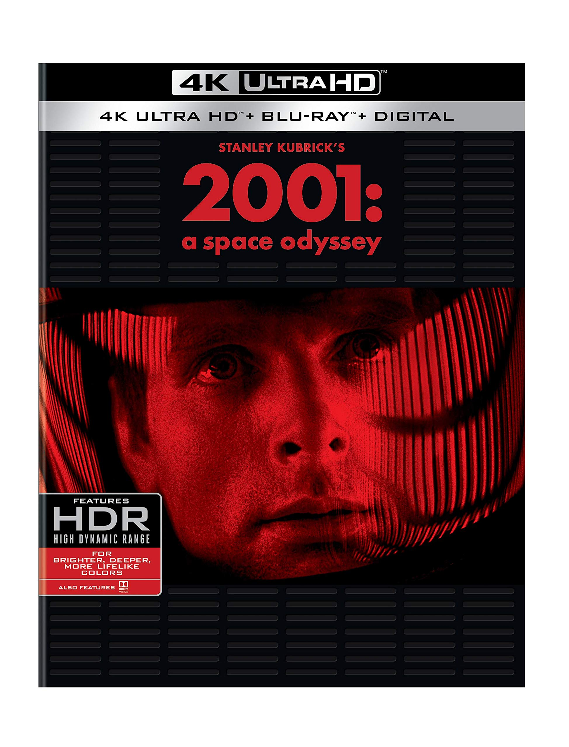 4K Blu-ray : 2001: A Space Odyssey (4K Mastering, Slipsleeve Packaging, 3 Pack)