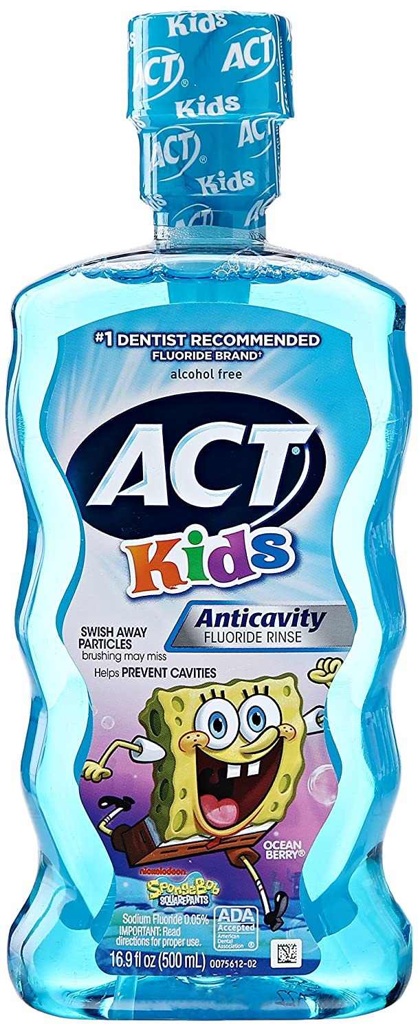 Acting Spongebob Kids Rinse - 1 Pack 10041167093501