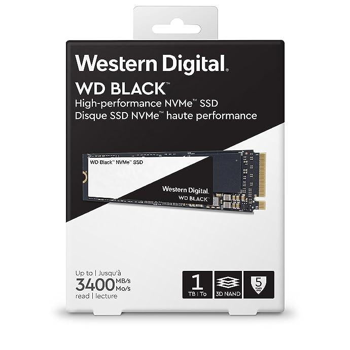 WD 西部数据 Black系列 黑盘 M.2接口2280 (NVMe协议) 1TB 固态硬盘 WDS100T2X0C 3.1折$99.99史低 海淘转运到手约¥992