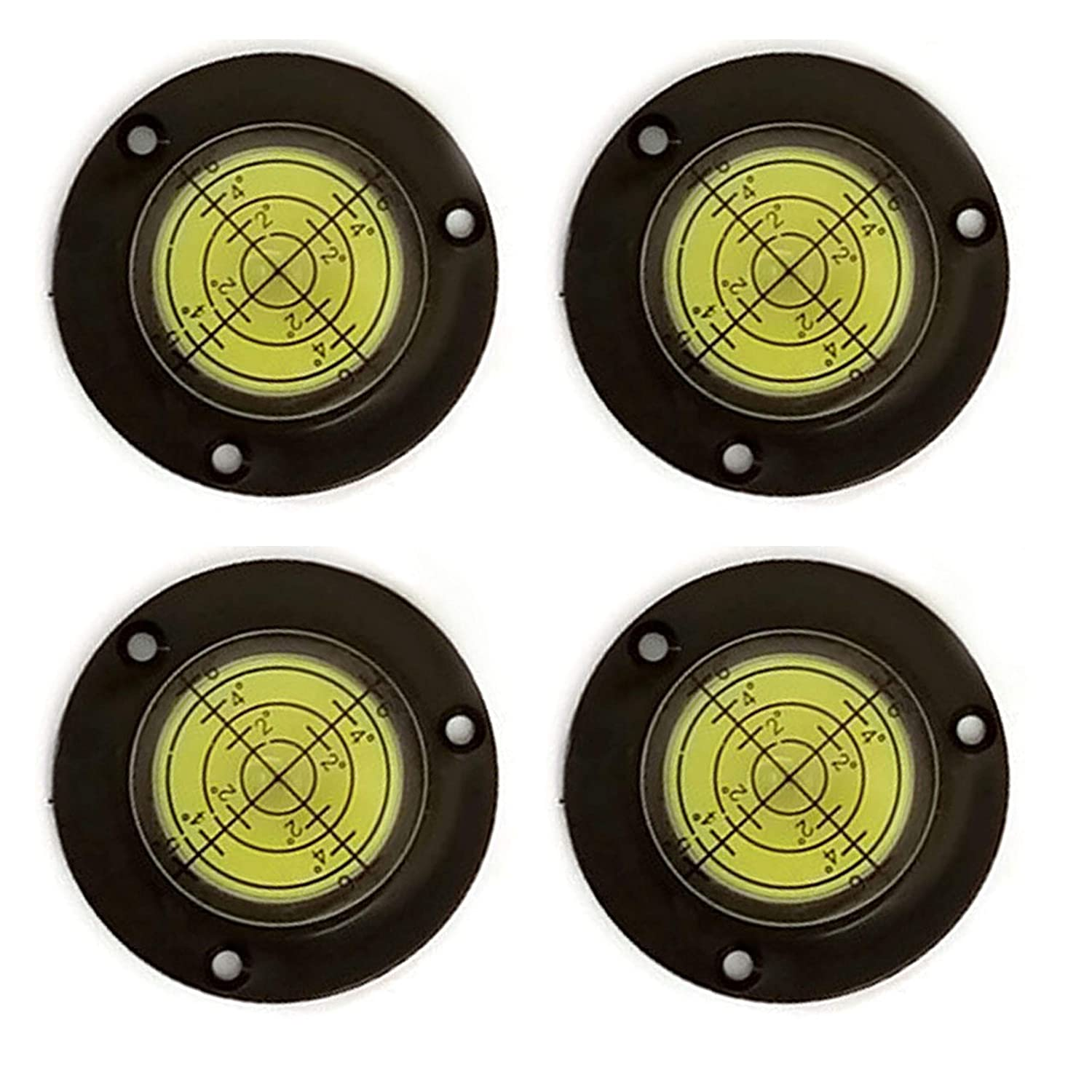 Four Pack Of Green 50x17mm High-Accuracy Bulls Eye Level by GFNT