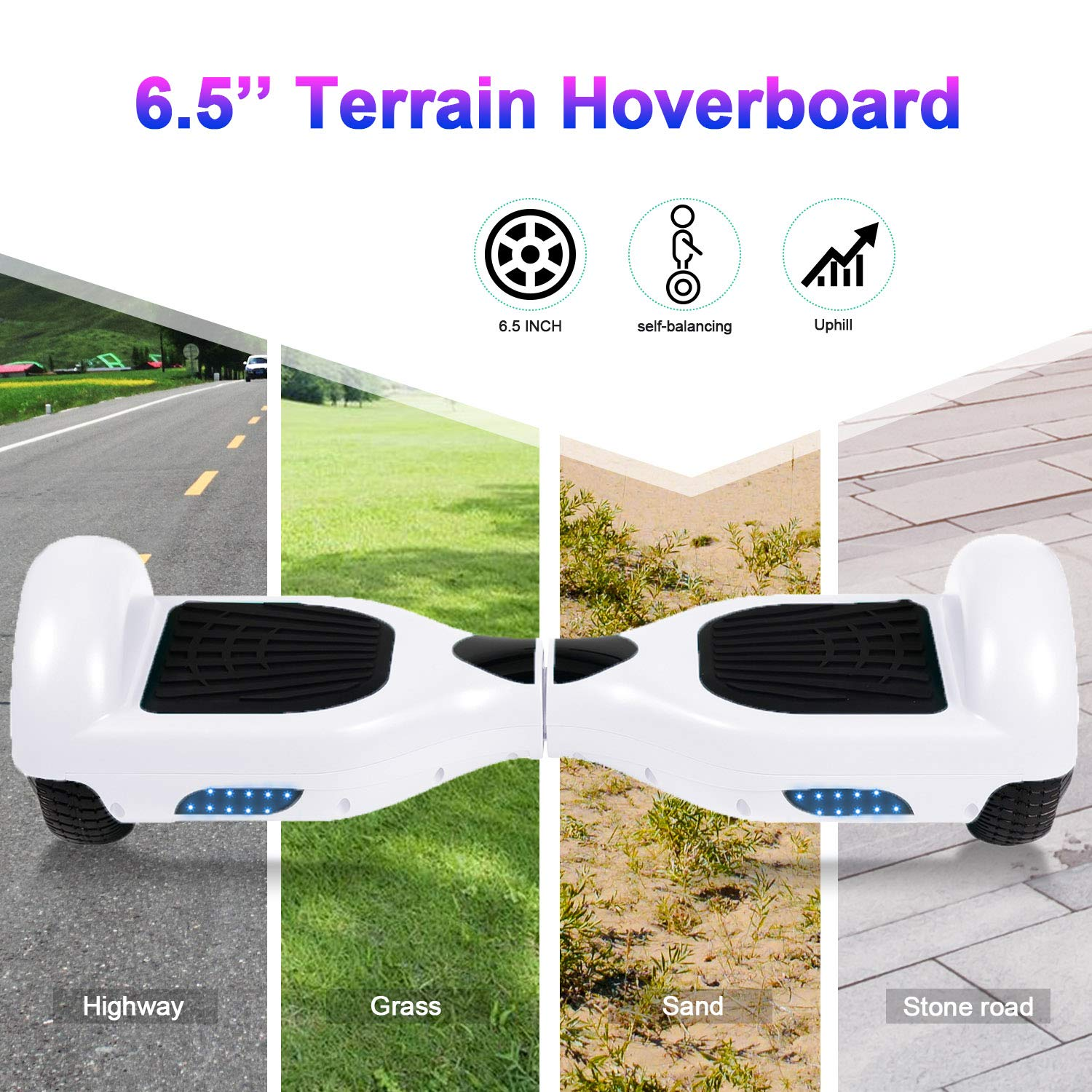 Amazon.com: TST Hoverboard - Kids Super Gifts ,6.5
