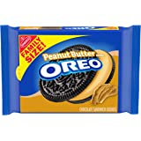 OREO Chocolate Sandwich Cookies, Peanut Butter Flavored Creme, 1 Resealable 17 oz Family Size Pack