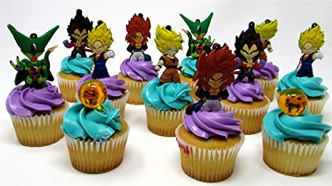 Image Unavailable Not Available For Color Dragon Ball Z 12 Piece Random Birthday