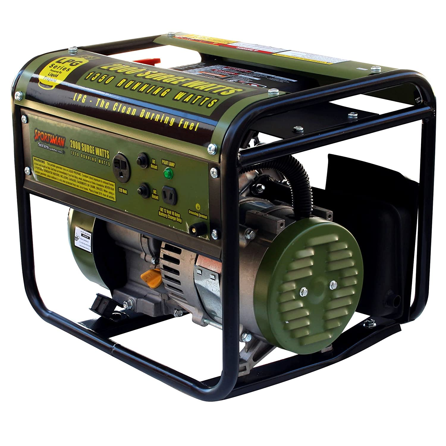 Amazon Sportsman GEN2000LP 2 000 Watt 2 8 HP OVH Propane