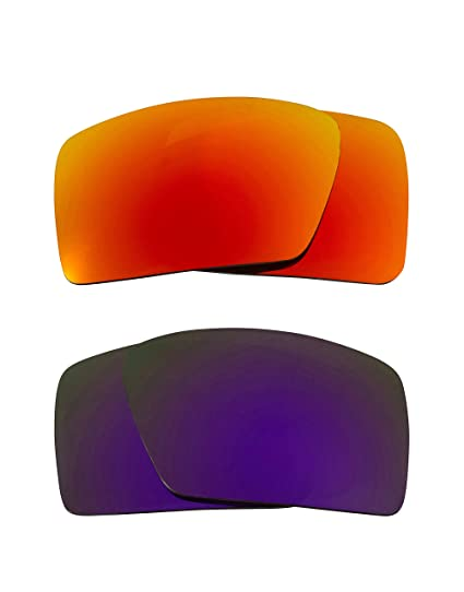 47d1ca8ed1 Eyepatch 1 Replacement Lenses Polarized Yellow   Purple by SEEK fits OAKLEY