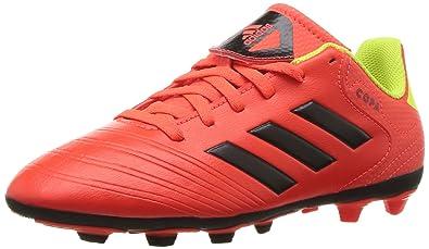 low priced fccb1 f8bb2 adidas Unisex COPA 18.4 FxG J Soccer Shoe Red, Black, Solar Yellow, 1.5