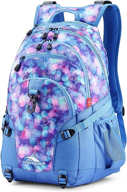 High Sierra Loop Backpack, Shine Blue/Lapis, 19 x 13.5 x 8.5-Inch