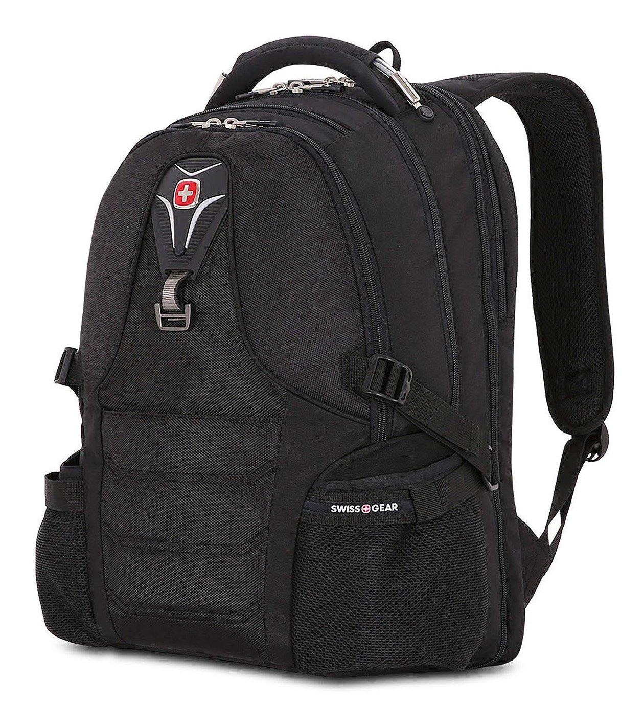 SwissGear Backpack Bookbag ScanSmart Laptop Notebook Backpack, Fits Most 17 Laptop Computers