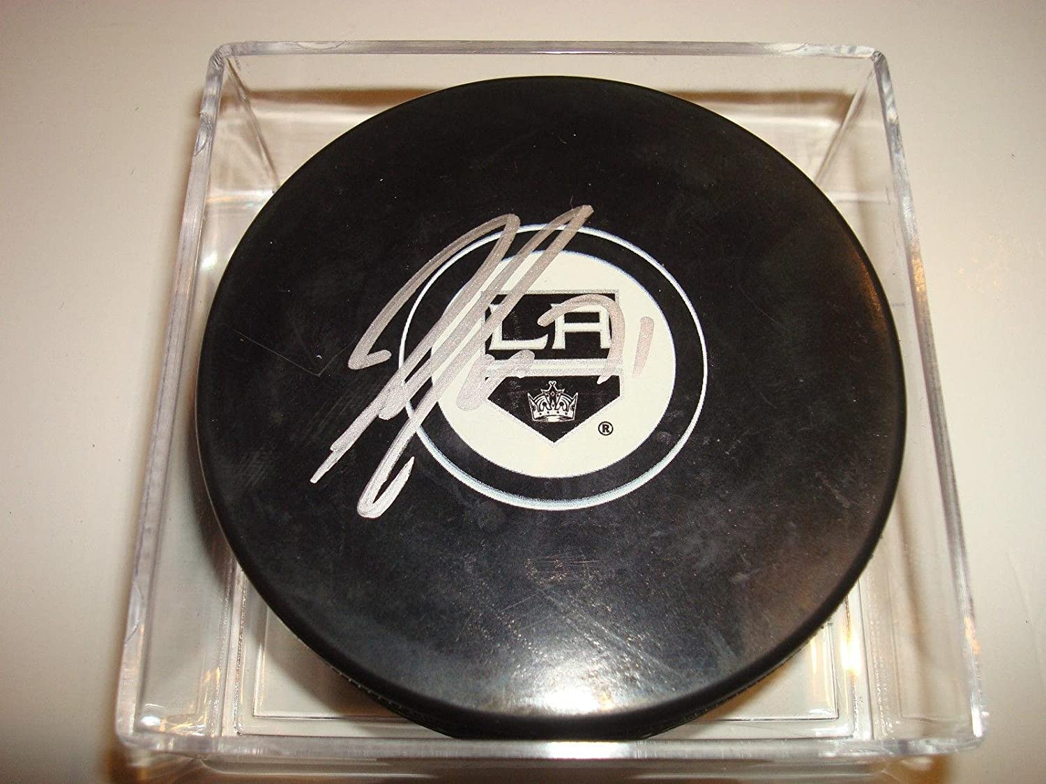 44c5c8ce5ae Jordan Nolan Signed Hockey Puck - 1E - Autographed NHL Pucks at Amazon's  Sports Collectibles Store
