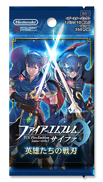 amazon com tcg fire emblem 0 cipher war blade of heroes booster