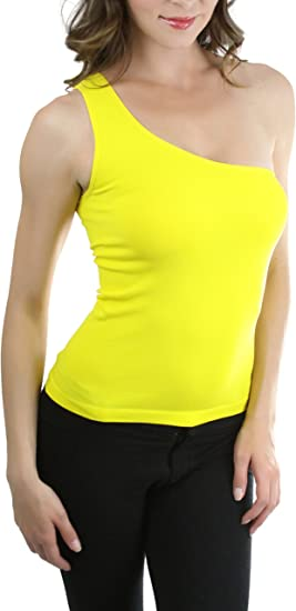 ToBeInStyle Women/'s Ribbed Racerback Long Muscle Tanktop