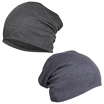 4b5ed476799 FabSeasons Cotton Slouchy Beanie and Skull Cap for Summer