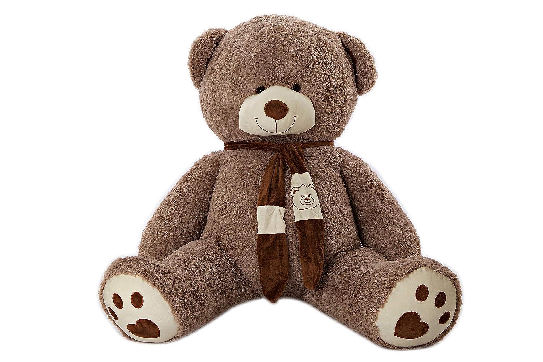 oso de peluche grande blanco de 80 cm - osito de peluche gigante de peluche - regalo de peluche para ni/ños - perfecto para cumplea/ños boda san valent/ín navidad MyTeddyWorld