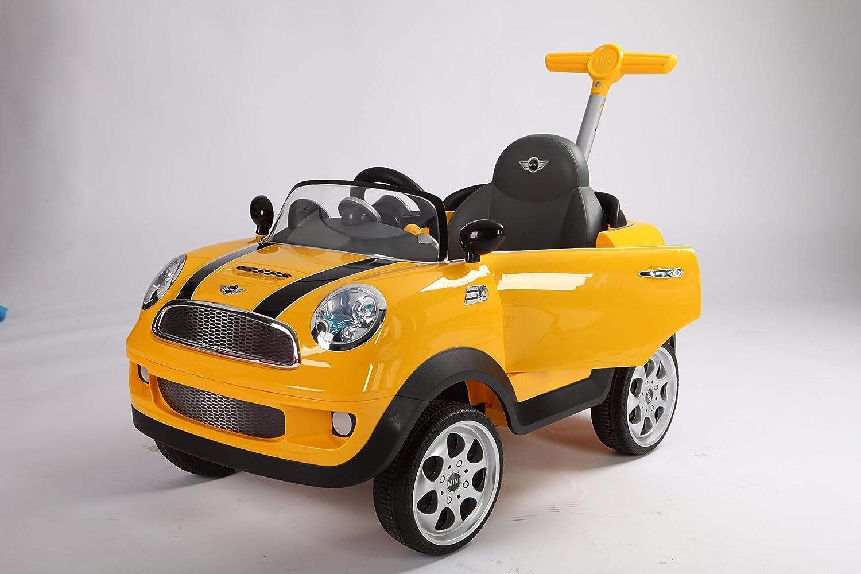 Rollplay 42583 Mini Cooper Push Car, Amarillo: Amazon.es: Juguetes ...
