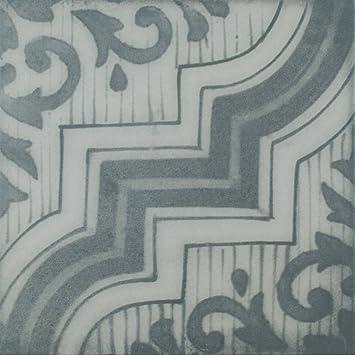 Bodenfliese Calabria Grau Matt Im Format 25x25cm Aus Feinsteinzeug