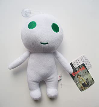 Buy 9 Princess Mononoke Tree Spirit Kodama White Plush Doll Toy Free Pin Online At Low Prices In India Amazon In