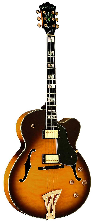 Washburn J5 TS Guitarra eléctrica semiacustica: Amazon.es: Instrumentos musicales