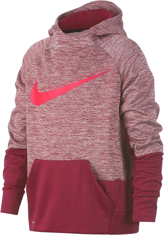 Nike Youth Boys Athletic Dri fit Full Zip Performance Therma Hoodie
