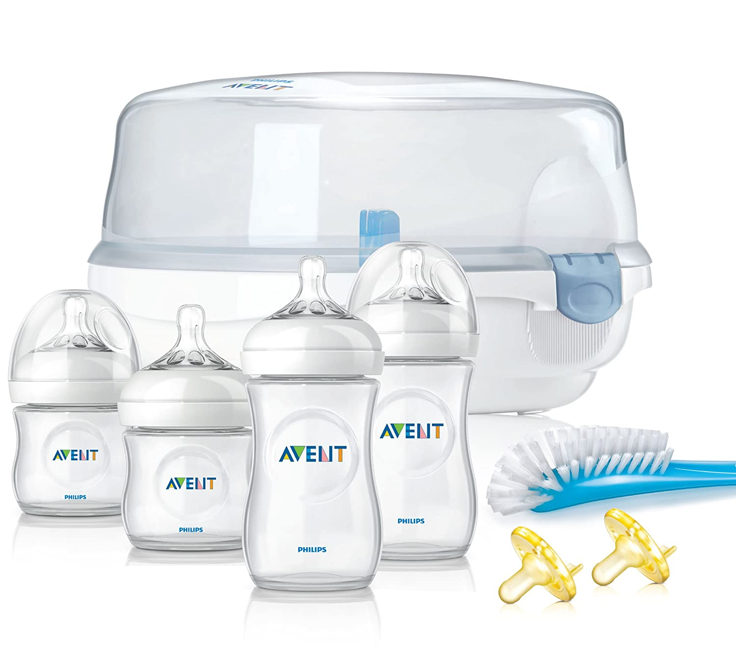 Amazon.com: Philips Avent Natural set básico de regalo, sin ...