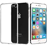 Migeec Compatible with iPhone 6 Case and iPhone 6s Case - Clear Soft TPU Bumper [Shock-Absorbing] Full Protection Phone…