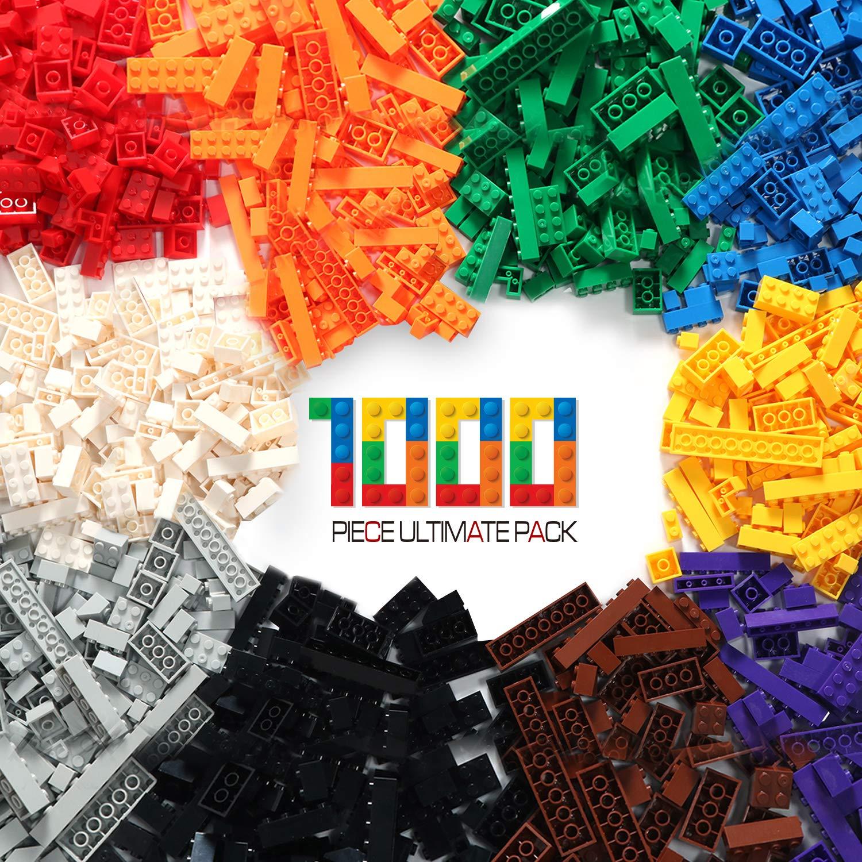 ビルディングブリック – パステルカラー – バラの積み木 1000 個 -すべての大手ブランド製ブロックと互換性あり – 提供 Exercise N Play B01ESPMXDY Colorful-1 1000pcs 1000pcs|Colorful-1, 建材Ladyにおまかせ ワニパーク b70cee11