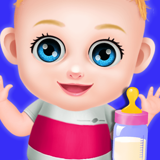 (Sweet Baby Girl Care Activities - DayCare Skills Game For The Girls -  Daycare  & Cleanup Summer Fun for preschool)