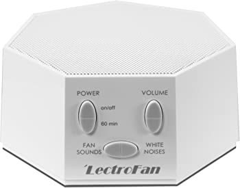 LectroFan Fan Sound and White Noise Machine