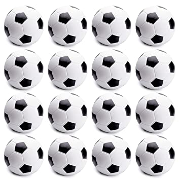 e31655deeb7 WATINC 16 Pcs 2.5Inch Soccer Ball Squishy Soft Foam Sports Balls for Kids  Sports Themed Party Favor Toys, Squeeze Balls for Stress Relief, Ball Games  ...