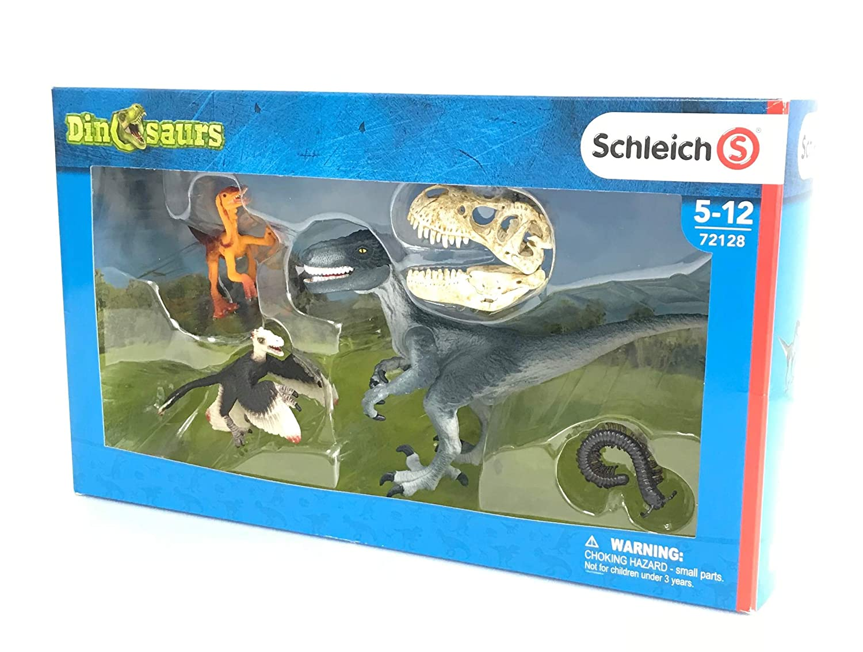Schleich Dinosaurs Three Raptors on The Hunt