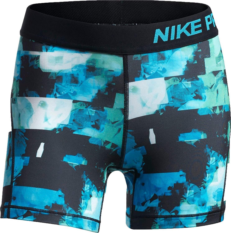 NIKE Pro Girl's Training Shorts XL, Dri Fit, Light Blue Fury