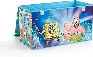"Nickelodeon Spongebob Collapsible Storage Trunk, 28.5"" W x 16"" H x 14.5"" D"