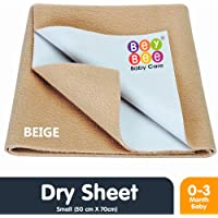 BeyBee Waterproof Baby Bed Protector Dry Sheet for New Born Babies