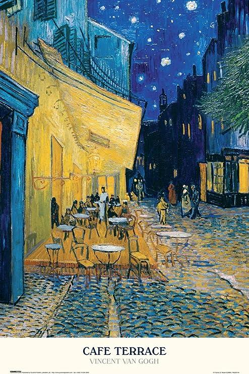 NEW Dutch Art Print POSTER The Night Cafe 1888 Vincent van Gogh