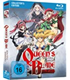 Queen's Blade: Beautiful Warriors - Blu-ray Gesamtausgabe (OmU) [Import allemand]