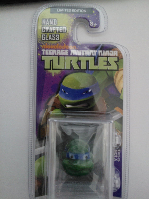 Teenage Mutant Ninja Turtles Leonardo Looking Glass Glass Glass Figure Head a262a5