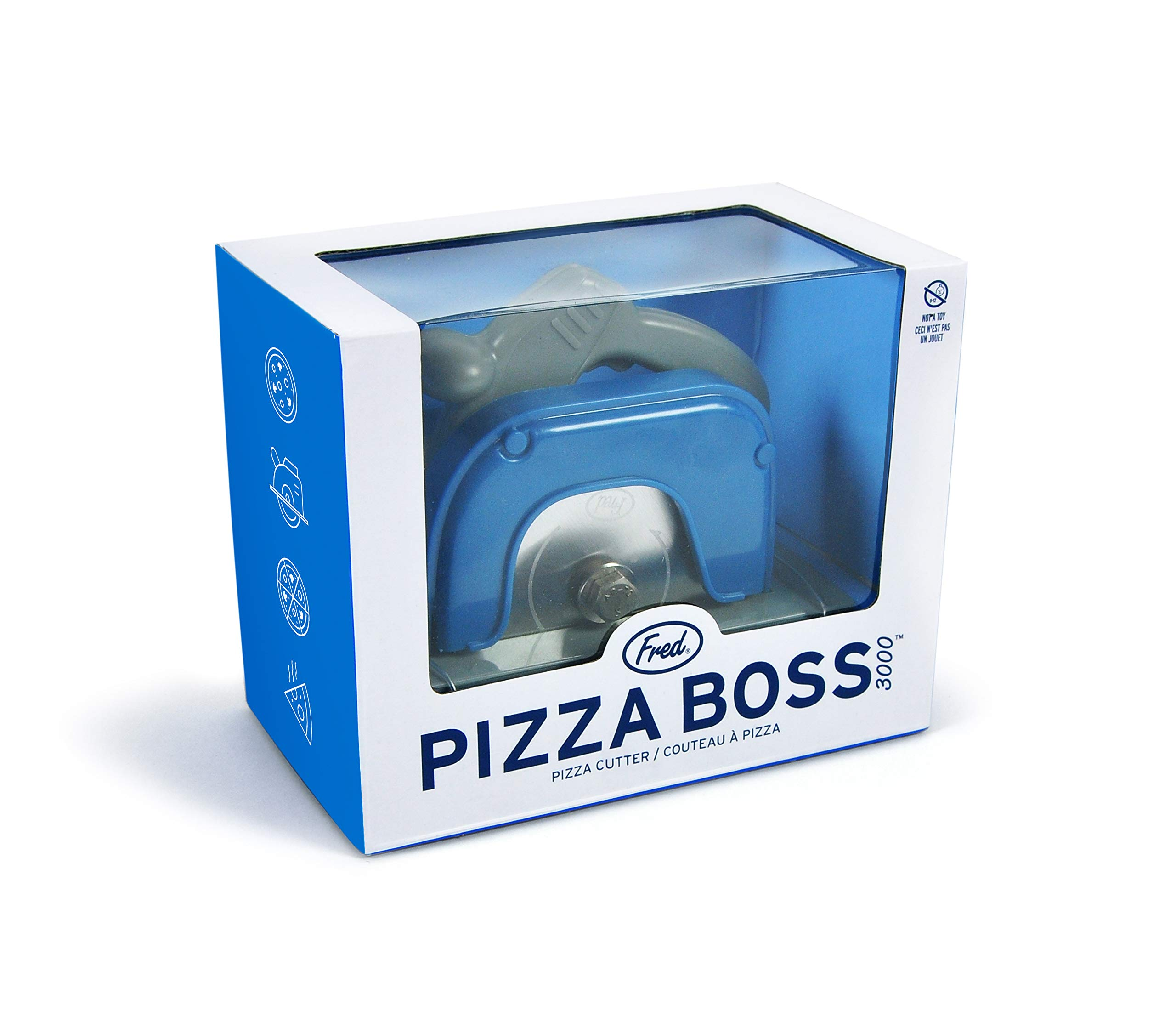 Ergonomic Soft TPR Grip 10.3Inch Asdirne Pizza Scissors Black/&Red Ultra Sharp Detachable Blade with a Tray Pizza Cutter