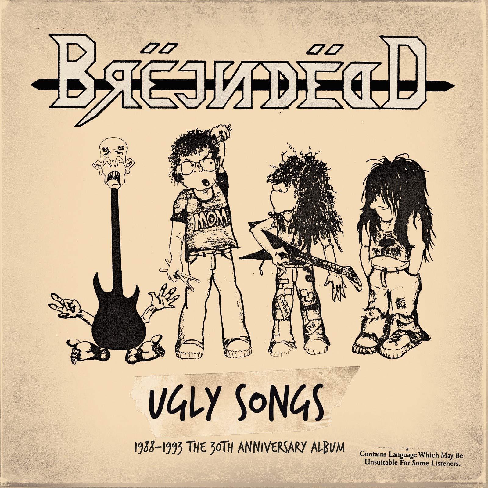 Vinilo : Brejndead - Ugly Songs 1988-1993 (LP Vinyl)