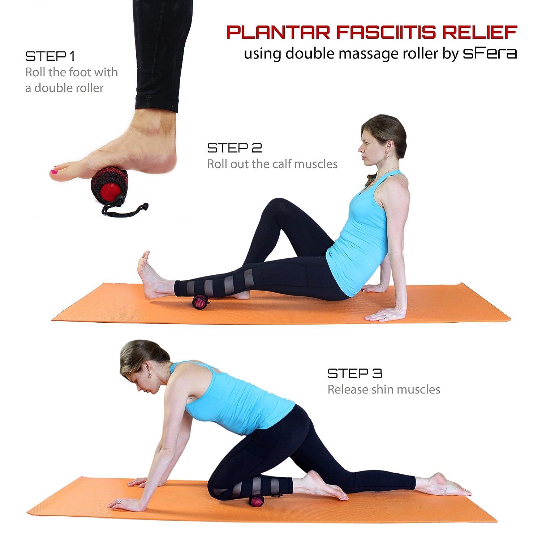 Amazon.com: Masaje bolas para masaje de tela profundo, Yoga ...