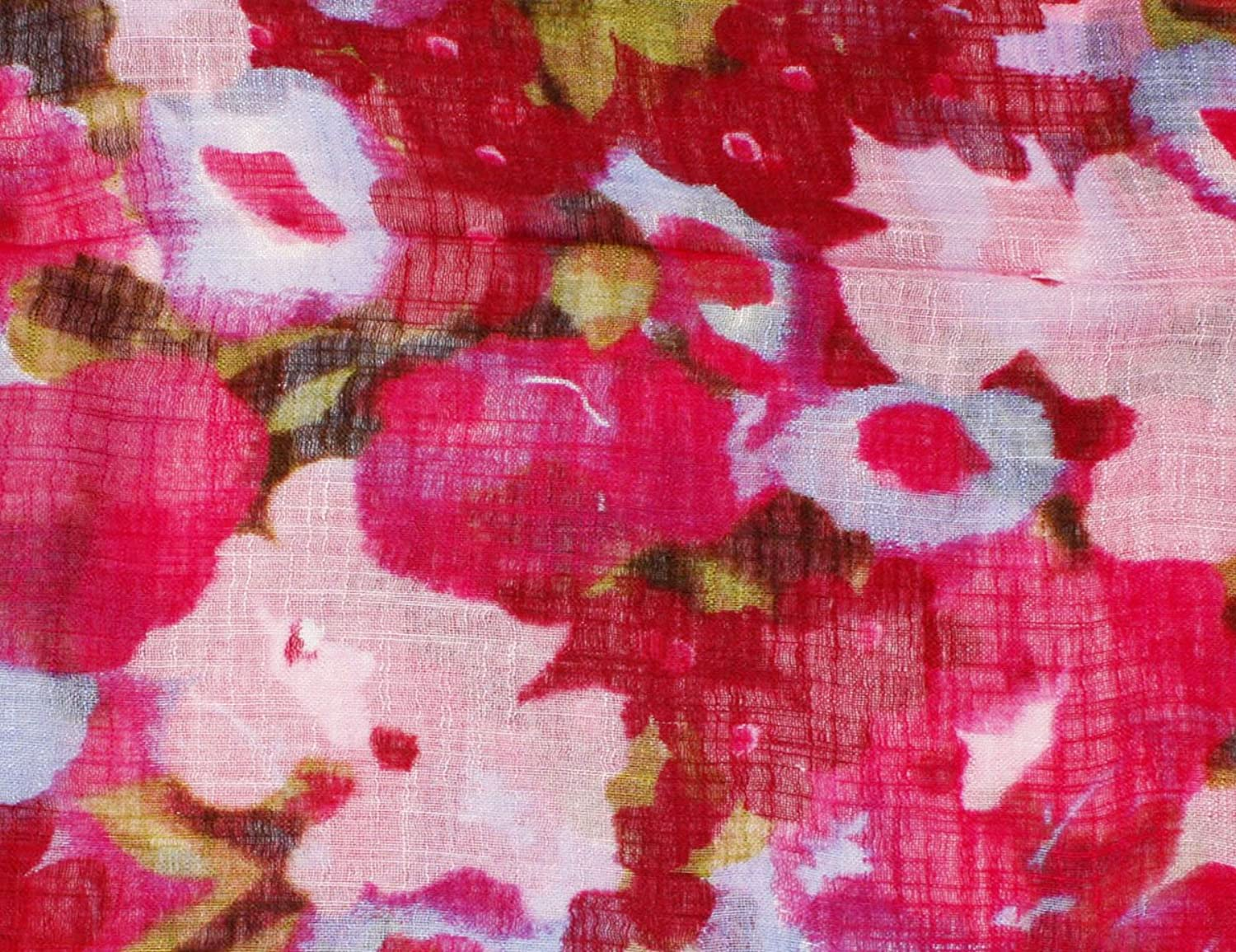 Rose Splats Fashion Viscose Scarf