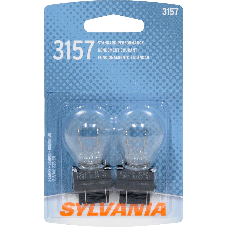 Sylvania 3157 Basic Miniature Bulb Contains 2 Bulbs Incandescent Light Diagram Automotive