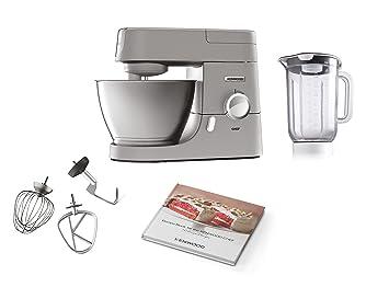 Kenwood KVC3110S Robot de Cocina, Accesorios de Bol, indicador de velocidades, 1000 W, 4.6 litros, Metal, Plata: Amazon.es: Hogar