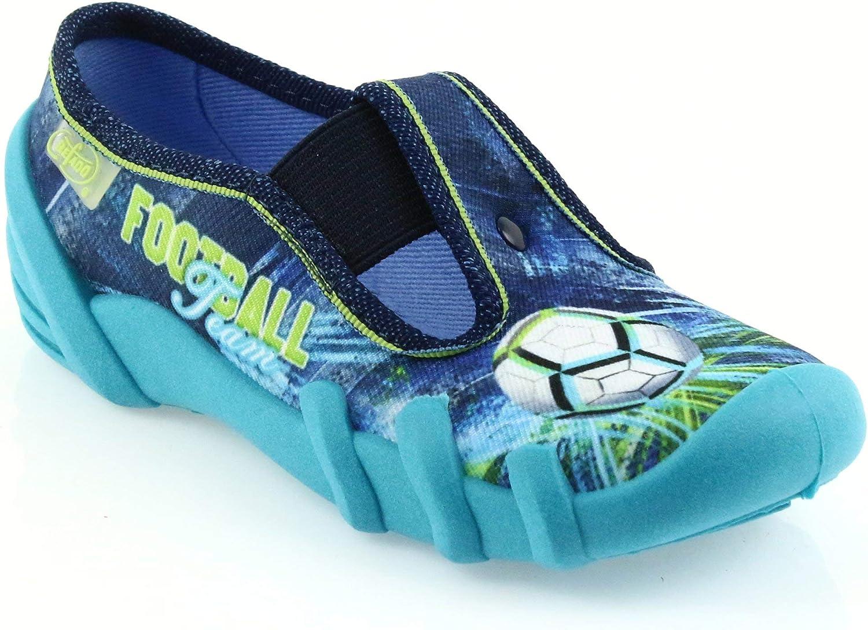 Befado girls boys kids canvas trainers shoes nursery baby slippers  2-12 UK